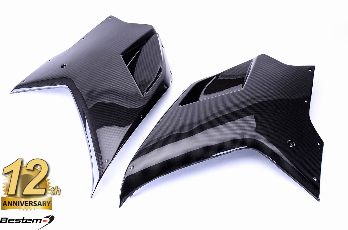Ducati 1098 848 1198 Side Body Panels 100 Carbon Fiber