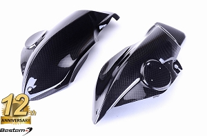 BMW K1200R  100% Carbon Fiber Air Box Covers