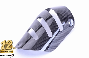 BMW K1300/R  100% Carbon Fiber Heat Shield