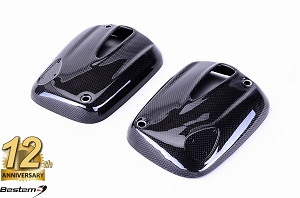 BMW R1100S R1100R R1150 R850 100% Carbon Fiber Cylinder Valve Head Covers (Double Ignition/Dual Spark)