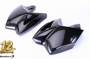 BMW R1200GS 2005 - 2007 100% Carbon Fiber Tank Side Covers