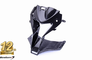 BMW S1000RR HP4 2009 - 2014 100% Carbon Fiber Head Nose Cowl, Twill Weave ,