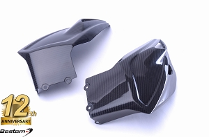 BMW S1000XR 2015 - 2018 100% Carbon Fiber Belly Pan, Twill