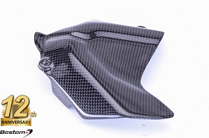 Ducati 848 1098 1198 100% Carbon Fiber Sprocket Cover