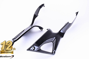 Ducati 848 1098 1198 100% Carbon Fiber Tank Side Panels