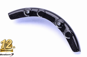 Ducati Hypermotard 796 1100 100% Carbon Fiber Sprocket Cover Rear