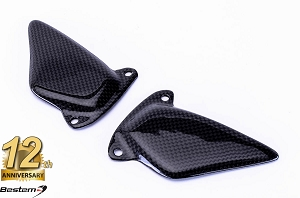 Ducati ST 100% Carbon Fiber Heel Guards