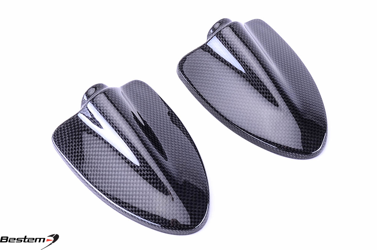 Ducati Hypermotard 796 1100 100 Carbon Fiber Mirror Covers
