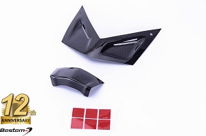 BMW K1300S 100% Carbon Fiber Front Fairing Covers, 2 PCS ,