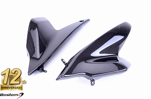 BMW R1200R 100% Carbon Fiber Side Panels