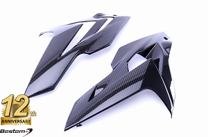 BMW S1000R 2014 - 2016 100% Carbon Fiber Side Panel Fairings, Twill