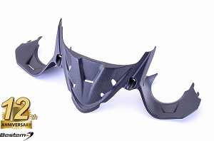 Ducati 1199 Panigale 100% Carbon Fiber Head Cowl Undertray, Matte Finish
