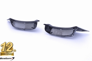 Ducati Diavel 2011 - 2018 Air Ram Intake Inlet Fairing Covers W/ Grilles 100% Carbon Fiber