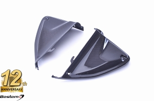 2013-2018 Hypermotard / 2013-2016 Hyperstrada Front Air Intake Cover Panel Dash Fairing Carbon Fiber