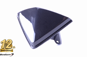2013-2018 Hypermotard Upper Front Nose Windshield Screen Fairing Carbon Fiber