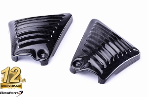 Harley Davidson VRSC 100% Carbon Fiber Air Intake Covers for 2007 and later V-Rod except VRSCF
