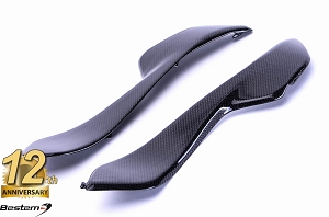 Honda CBR1000RR 2004 - 2007 100% Carbon Fiber Side Panels 2