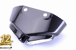 Kawasaki ZX6R 2007 - 2008 100% Carbon Fiber Exhaust Tip Cover Guard