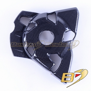 2010-2016 Z1000 Z1000R 2017-2018 Engine Sprocket Chain Case Cover Guard Fairing Cowl Carbon Fiber
