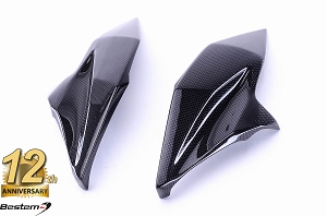 Kawasaki Z800 2013 100% Carbon Fiber Front Fairing Middle Parts