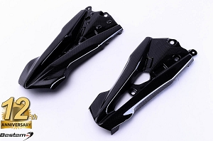 Kawasaki Z800 2013 100% Carbon Fiber Side Fairings 1