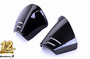 Suzuki GSXR1000 2007 - 2008 100% Carbon Fiber Exhaust Heat Shield Cover