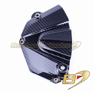 Yamaha YZF R6 2006 - 2018 100% Carbon Fiber Sprocket Cover Twill Weave