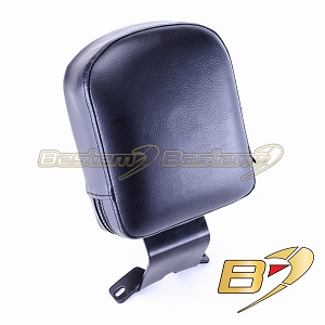 Harley Davidson Softail Deluxe 05-11 Driver Backrest, Black
