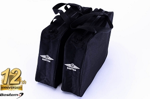 Harley Davidson Softail Hard Saddlebag Sideliners Side Case Trunk Liners Bags, Black