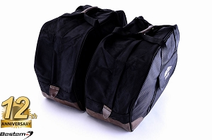 Honda Gold Wing GL1800 Saddlebag Sideliners Side Case Trunk Liners Bags, Black - Pair