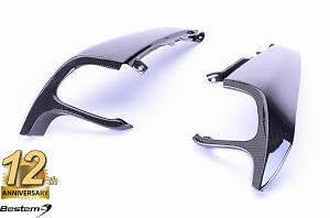 BMW K1300S  100% Carbon Fiber Air Intake Covers