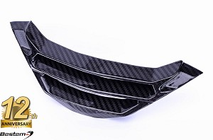 BMW S1000R 2017 - 2018  100% Carbon Fiber Radiator Water Cooler Cover Lower , Twill