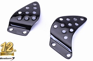 Kawasaki  ZX6 1998 - 2002 100% Carbon Fiber Heel Guards