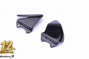 MV Agusta F4 2010 - 2016 100% Carbon Fiber Heel Guards