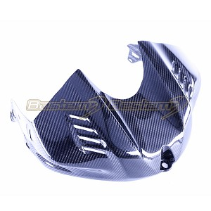 2017 2018 Yamaha R6 Carbon Fiber Gas Tank Air Box Front Cover Guard Cowl Fairing, Twill Weave