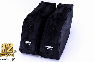 Harley Davidson Road King Saddlebag Sideliners Side Case Trunk Liners Bags, Classic, Black - Pair