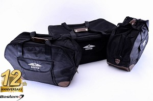 Honda Gold Wing GL1800 Saddlebag Side Case Trunk Liners and Top Box Case Liner Set, 3PCS, Deluxe, Black